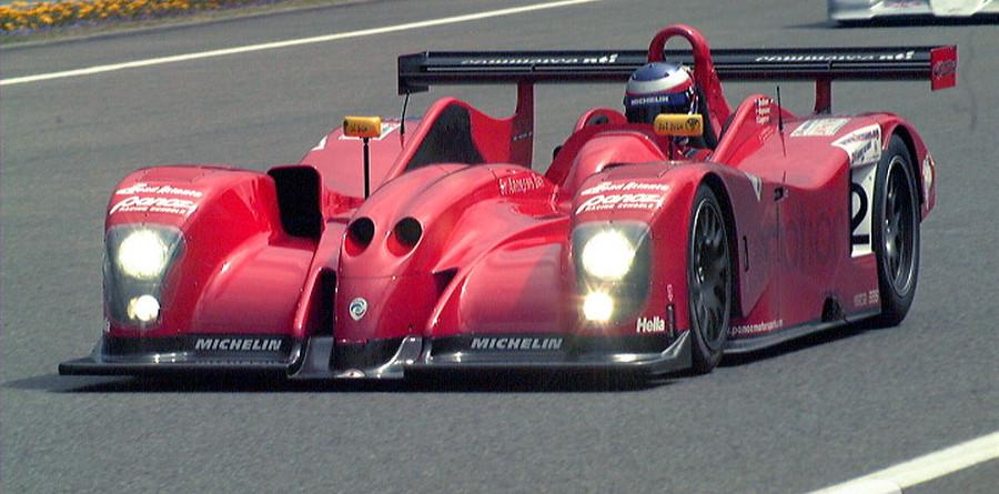 Jan Magnussen's lap of Le Mans circuit