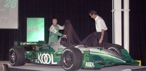 CHAMPCAR/CART: Team Kool Green gets new colors