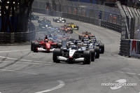 Coulthard wins Monaco GP in fine style