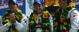 Le Mans Historic triple for Audi at Le Mans