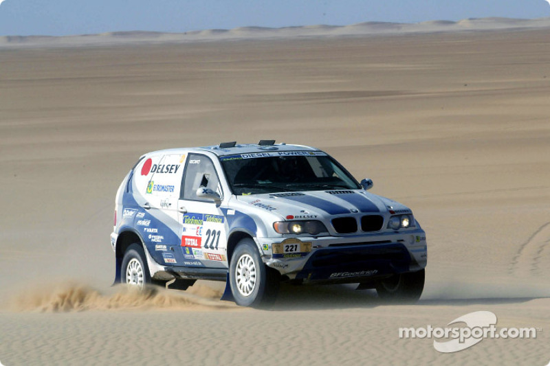Dakar: BMW stage ten report