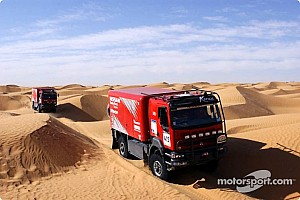 Dakar Dakar: Nissan spotlights their No. 428 Truck