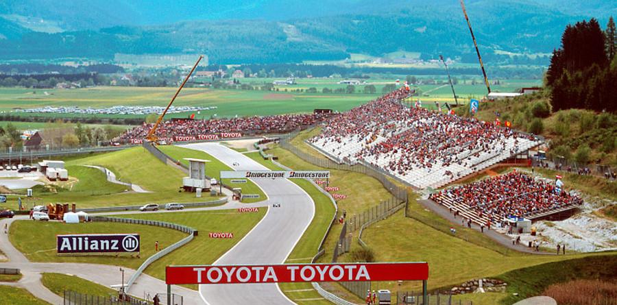 Last race for Austria in 2003