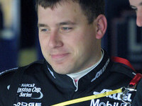 Ryan Newman grabs the Atlanta pole