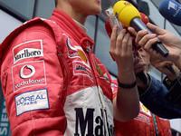 Schumacher most wanted driver