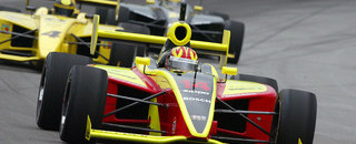 Indy Lights IPS: Inaugural race, inaugural winner Carpenter at Indy