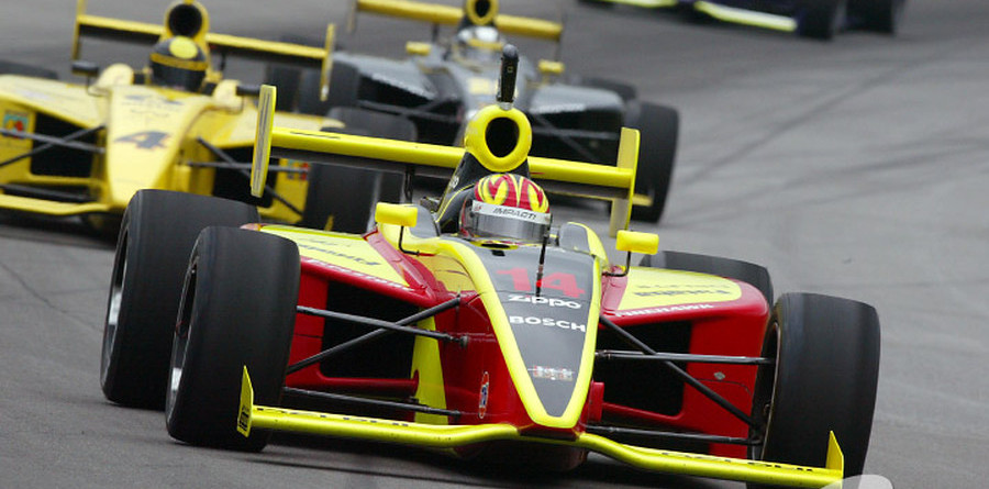 IPS: Inaugural race, inaugural winner Carpenter at Indy