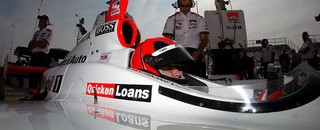 IndyCar IRL: Castroneves claims St. Louis pole, instrument-free