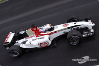 Button tops first day of Barcelona test