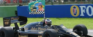 Formula 1 Emotional Imola drive for Berger