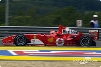 Ferrari front row for Hungarian GP