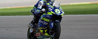 MotoGP Gibernau on provisional pole for final round