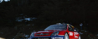 WRC Loeb takes third Monte Carlo win in a row