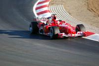 Schumacher not worried about test times