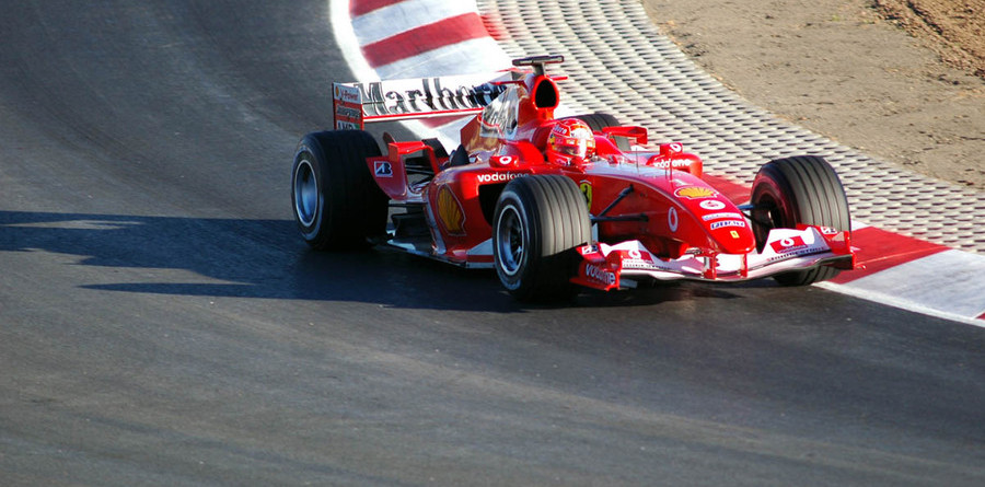 Schumacher not worried about test times
