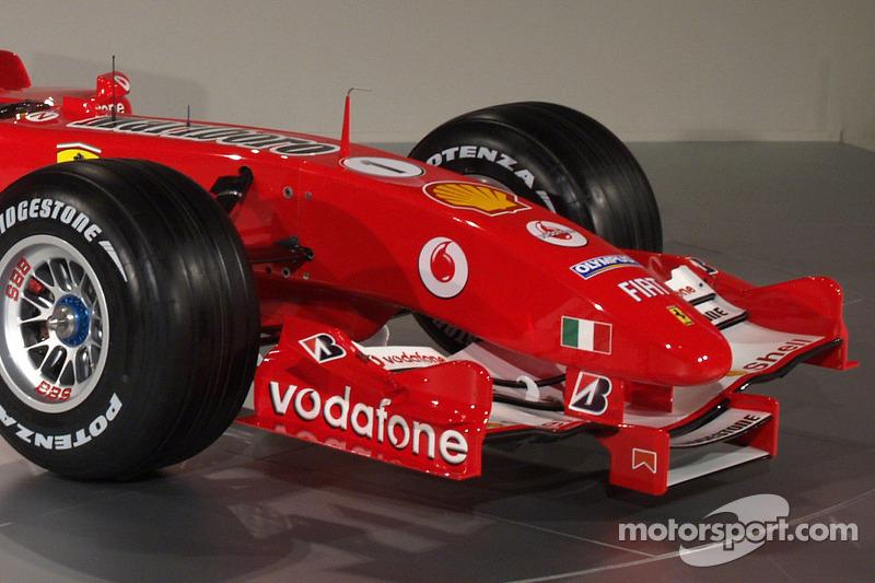 Byrne explains design of F2005