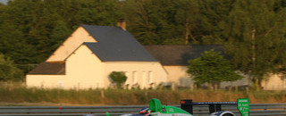 Le Mans Front row for Pescarolo Sport at 24H