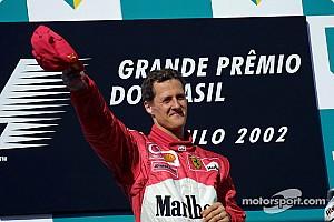 Формула 1 Ностальгія Цей день в історії: 100-й подіум Міхаеля Шумахера