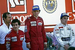 Rétro 1984 - Niki Lauda, Champion pour un demi-point