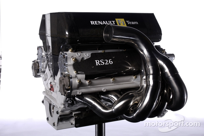 White discusses the RS26 engine