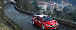 WRC Loeb ready to clinch fourth Monte Carlo Rally victory
