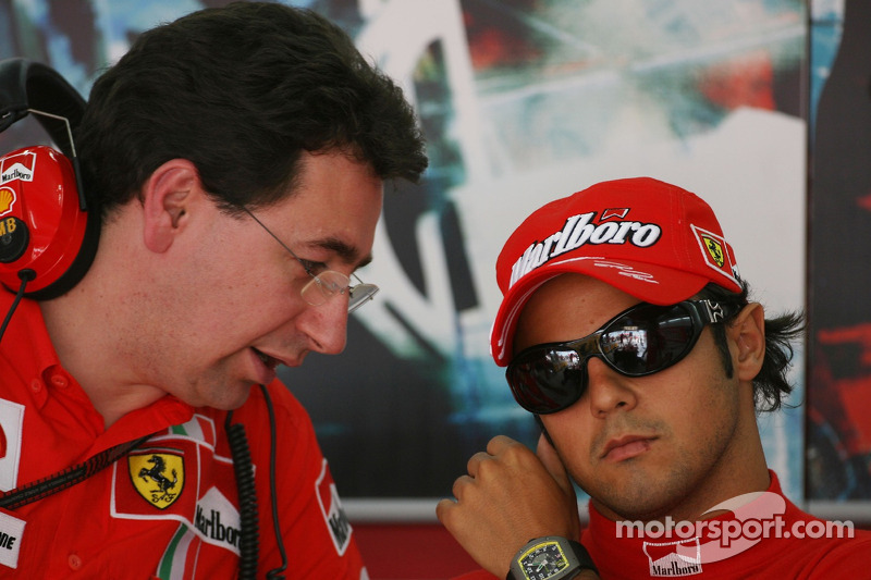 Ferrari chiefs dicsuss drivers