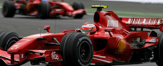Formula 1 Ferrari takes over in British GP second practice