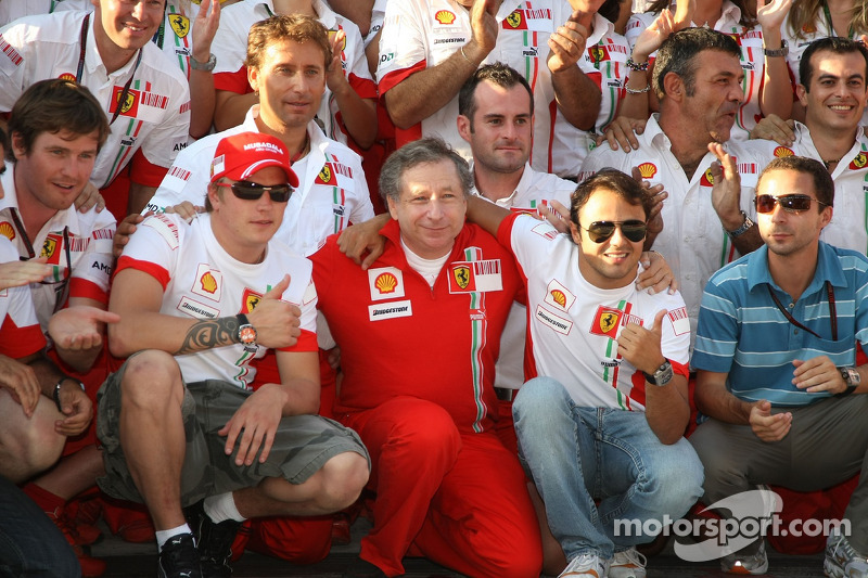 No favoured driver at Ferrari