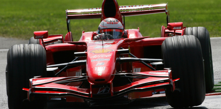 Raikkonen top in Belgian GP first practice