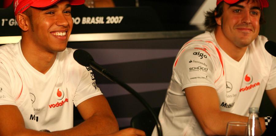 McLaren teammates play down tensions