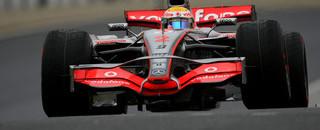 Formula 1 McLaren leads on Brazilian GP Friday