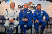 Derek Bell returns to the driver's seat
