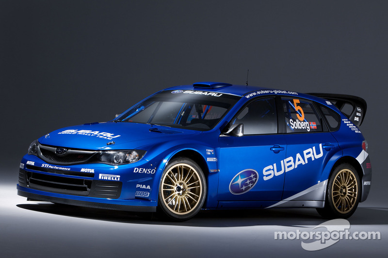 Subaru Impreza WRC2008 to launch in Greece