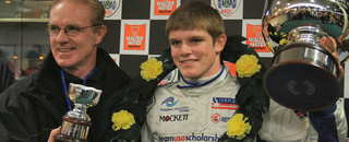 Other open wheel Victory for Conor Daly in Silverstone Thriller