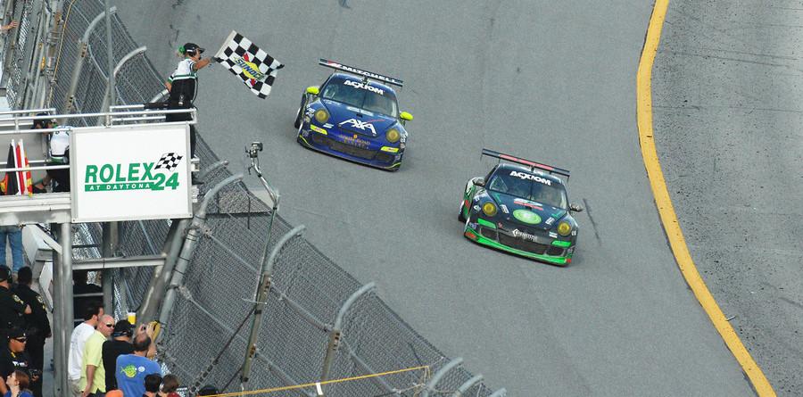 TRG Porsches bag 1-2 in GT at Daytona