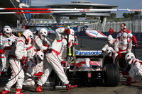 Glock up top again in Jerez test, day three
