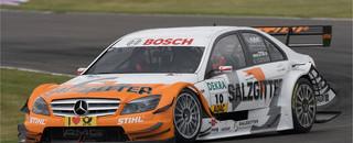 DTM Paffett picks winning strategy at Lausitz