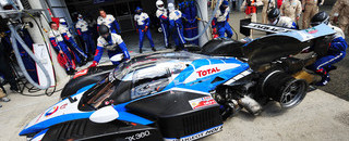 Le Mans Peugeot crash headlines start at Le Mans