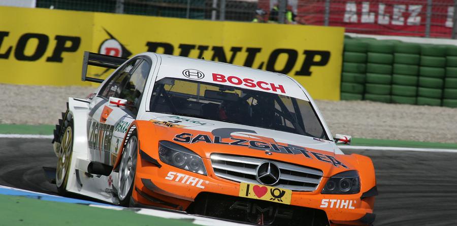 Paffett leads Mercedes romp at Hockenheimring