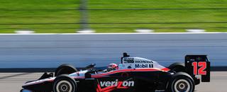 IndyCar Power's Iowa pole extends Penske record