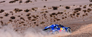 Dakar Mammoth stage has high drama as de Villiers wins