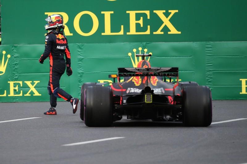 Ricciardo: Red Bull hat Baku-Crash unfair gehandhabt
