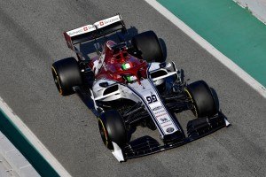 Giovinazzi begeistert: Alfa Romeo von der ersten Runde an