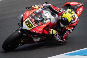 Ducati: Bautista beim WSBK-Debüt der Favorit, Davies am Freitag nur 14.