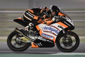 Moto3 in Katar Qualifying: Aron Canet holt Pole, Romano Fenati verpokert sich