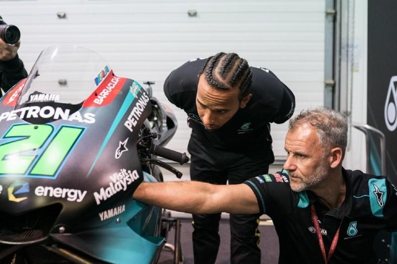 Nach Rennbesuch in Katar: Hamilton brennt auf MotoGP-Test