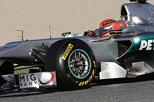 Formula 1 Pirelli says tyres not designed for Schumacher