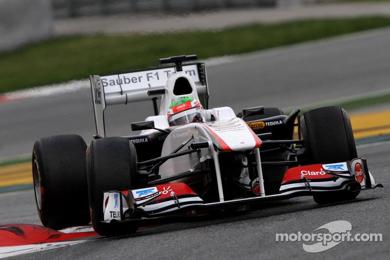 Sauber Barcelona test report 2011-03-08