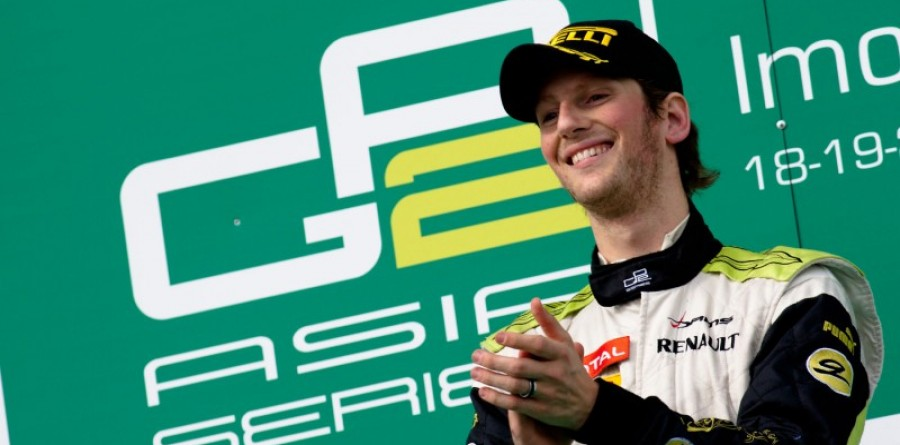 Romain Grosjean takes second GP2 Asia title