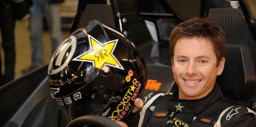 Tanner Foust Opens Global Rallycross Season at Irwindale